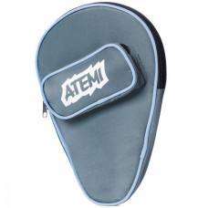 Чехол для теннисных ракеток Atemi серый