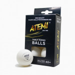 М'ячі ATEMI *** 6 штук білі