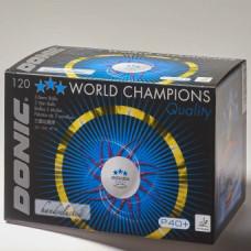 Мяч Donic P40+ 3* (120 шт в уп)