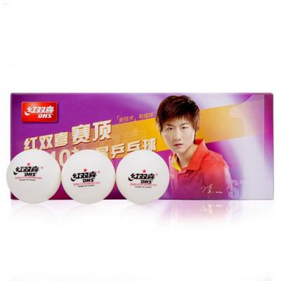 М'ячі для настільного тенісу DHS CELL-FREE DUAL 40+ мм 1 * (10 шт)