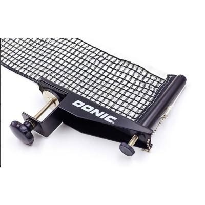 Купить профессиональную сетку для тенниса DONIC МТ-808341 (металл, NY, PVC чехол) с бесплатной доставкой