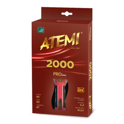 Ракетка для настільного тенісу Atemi 2000 PRO AN/FL